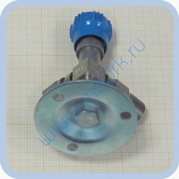 Клапан запорный К-2102-16 правый (игольчатый вентиль)  Вид 4
