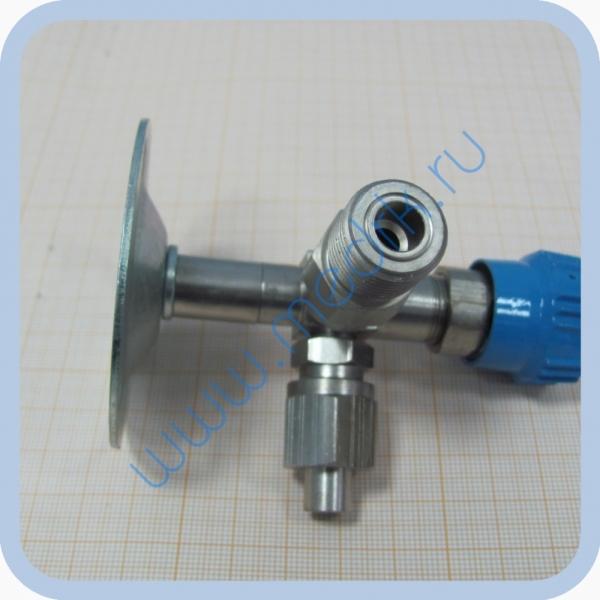 Клапан запорный К-2102-16 правый (игольчатый вентиль)  Вид 6