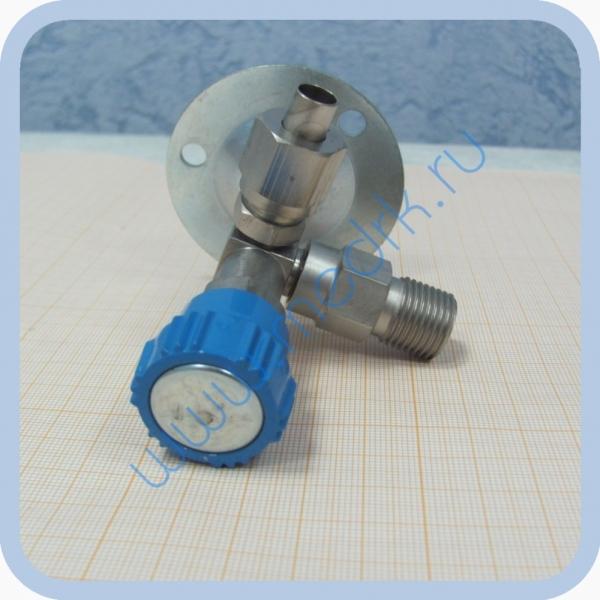 Клапан запорный К-2102-16 правый (игольчатый вентиль)  Вид 7