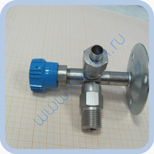Клапан запорный К-2102-16 правый (игольчатый вентиль)  Вид 8