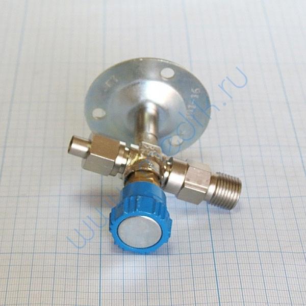 Вентиль кислородный медицинский ВКм (клапан запорный К-1101-16)  Вид 3