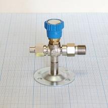 Вентиль кислородный медицинский ВКм (клапан запорный К-1101-16)