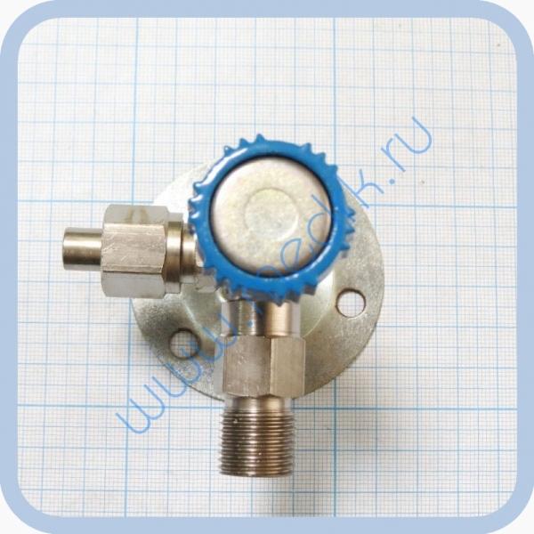 Клапан запорный К-2102-16-00 левый (вентиль игольчатый)  Вид 1