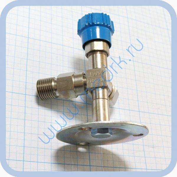 Клапан запорный К-2102-16-00 левый (вентиль игольчатый)  Вид 2