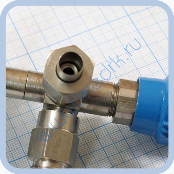 Клапан запорный К-2102-16-00 левый (вентиль игольчатый)  Вид 4