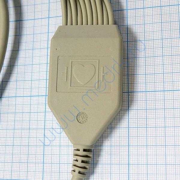 Кабель штекерный ЭКГ-12ш  Вид 6