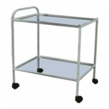Столик манипуляционный МСК-501-01М (стекло/стекло)