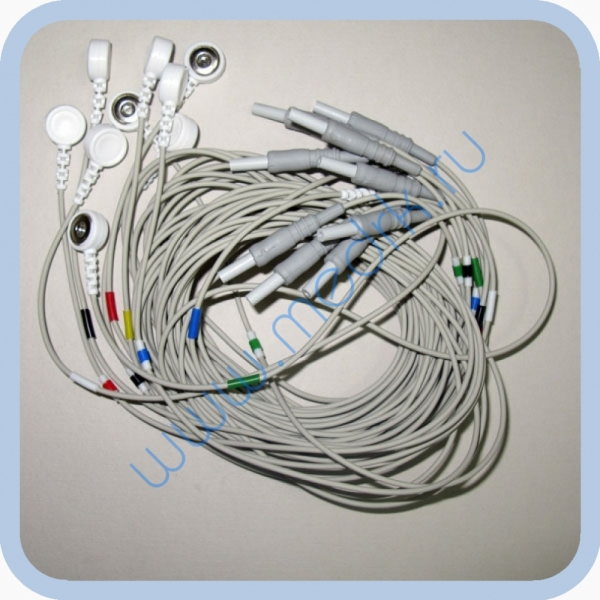 Набор электродных кабелей  Вид 1