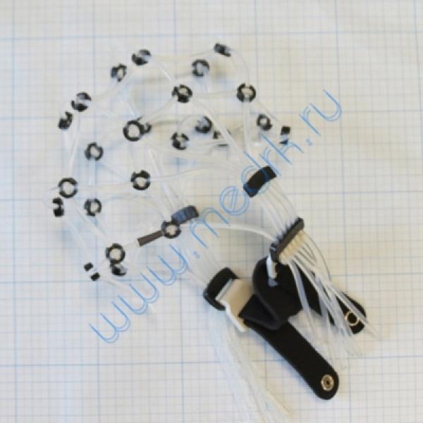 Шлем для ЭЭГ и РЭГ для аппарата Энцефалан-131-01  Вид 2