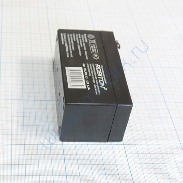 Аккумулятор для ЭКГ Shiller AT1/101 AN-12-1,3 1300 12 В Pb  Вид 5