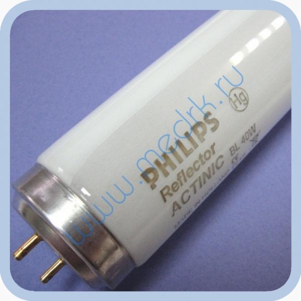 Лампа Philips Actinic BL TL-K 40W/10 -R SLV  Вид 1