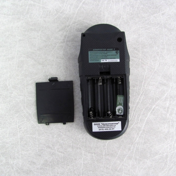 Алкотестер Марк 5 с цветным дисплеем (Алкотектор Mark V)  Вид 11