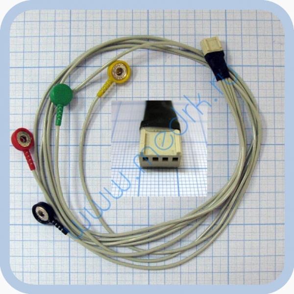 Кабель пациента для аппарата ЭК3К-01-Холтер-ДНК  Вид 2