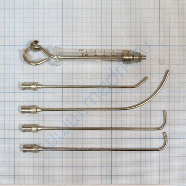 Шприц для внутригортанных вливаний и промывания миндалин Ш-14 МИЗ-Ворсма 5 мл  Вид 3
