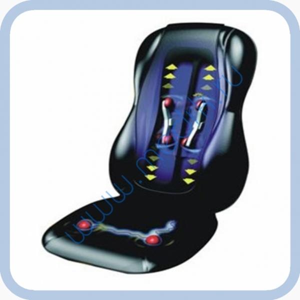 Кресло массажное автомобильное роликовое N-078  Вид 1