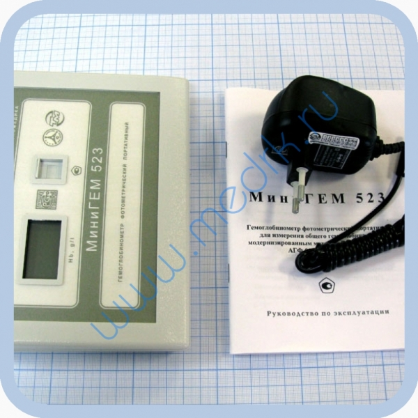 Гемоглобинометр фотометрический МиниГЕМ 523  Вид 2