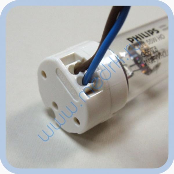 Патрон для люминесцентных ламп с цоколем G13  Вид 1