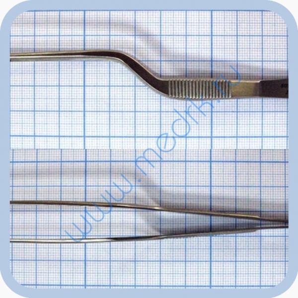 Пинцет ушной штыковидный 140х1,5 J-31-1090  Вид 1
