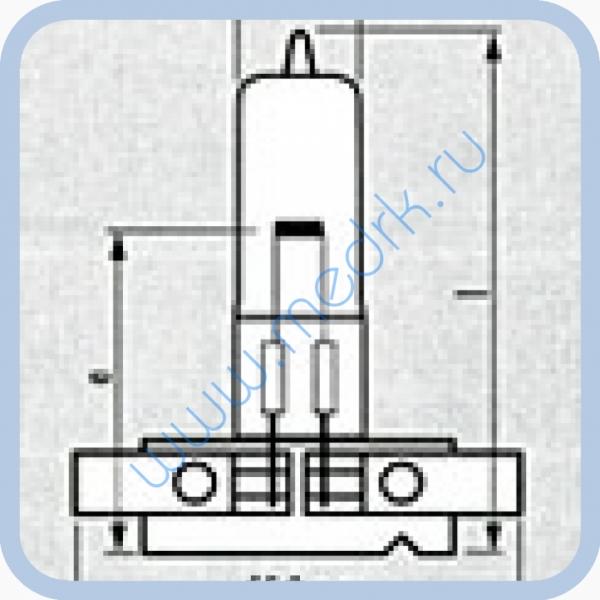 Лампа галогеновая Narva 55307 HLWS5-A 12V 100W   Вид 2