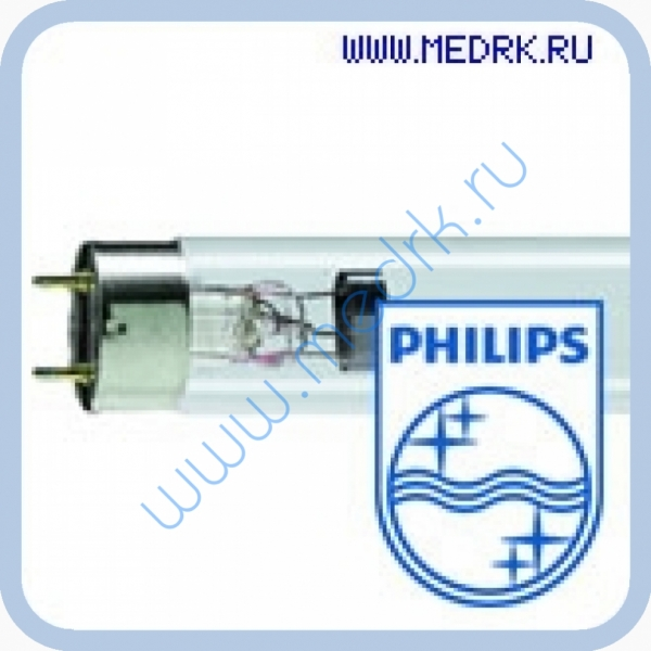 Лампа бактерицидная Philips TUV 10W SLV/25