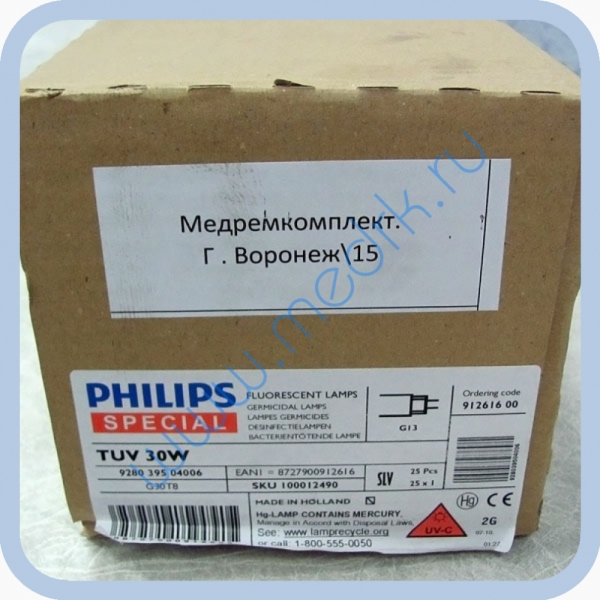 Лампа бактерицидная Philips TUV 30W G13
