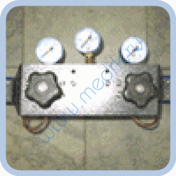 Рампа кислородная на 6 баллонов для КСС-2  Вид 1