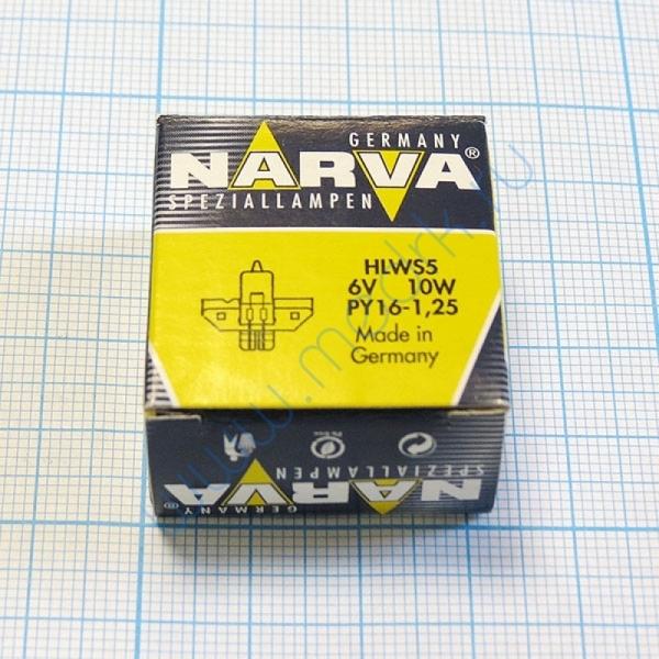 Лампа Narva 55122 HLWS 6V 10W  Вид 2