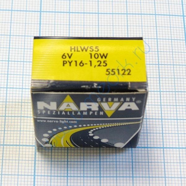 Лампа Narva 55122 HLWS 6V 10W  Вид 3