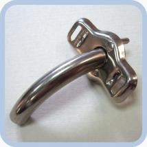Трубка трахеостомическая металлическая ТТМ-3