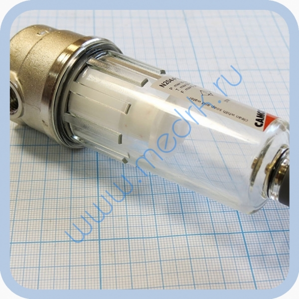 Влагоотделитель - фильтр Camozzi N204-F10 на стоматологическую установку  Вид 5