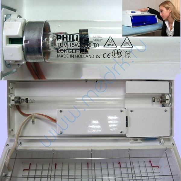 Облучатель-камера бактерицидный КУФИ-01-Процессор  Вид 2