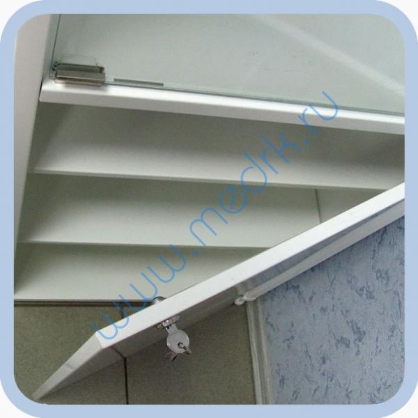 Шкаф медицинский металлический ШМ-01-МСК  Вид 6