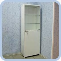 Шкаф медицинский металлический ШМ-01-МСК