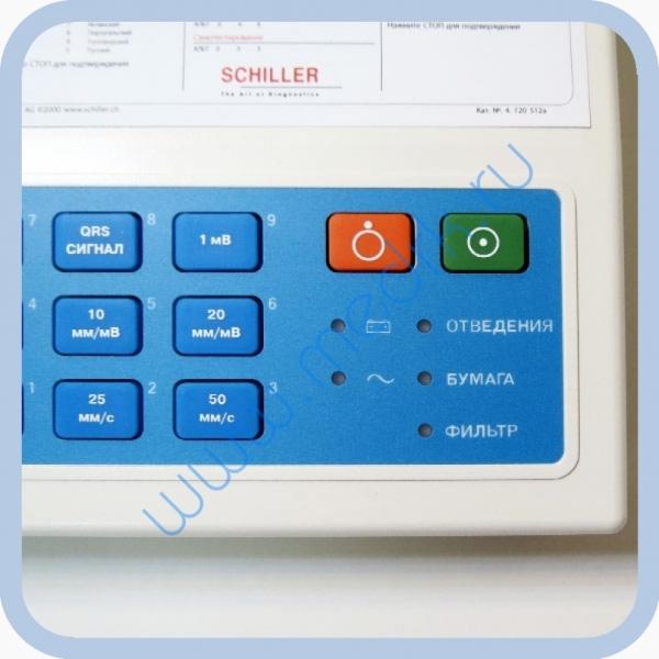 Электрокардиограф SCHILLER CARDIOVIT AT-1  Вид 4