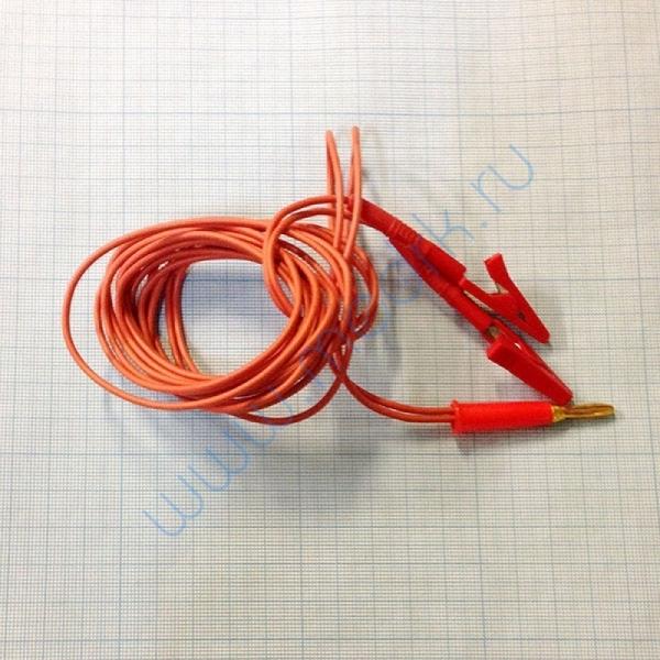 Кабель для подключения электродов ВР-112-Ч 2-х контактный анод (+)  Вид 1