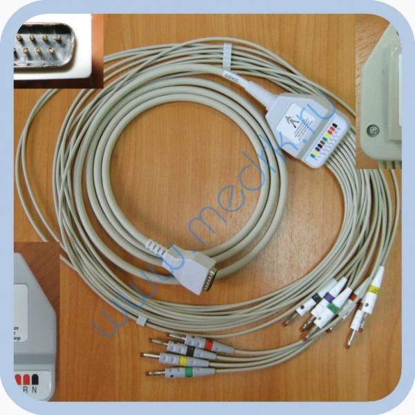 ЭКГ кабель пациента (отведения) FIAB F6736  Вид 1