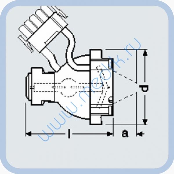 Лампа металлогалогенная Osram HTI 250 W/22 C qd6 (AC)  Вид 1
