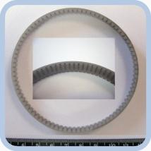 Ремень зубчатый резиновый 10 АТ3/252 Е3/8 для ИВЛ-аппарата Фаза-5