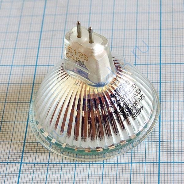 Лампа галогенная (галогеновая) Osram 44865 WFL 12V 35W GU5,3  Вид 2