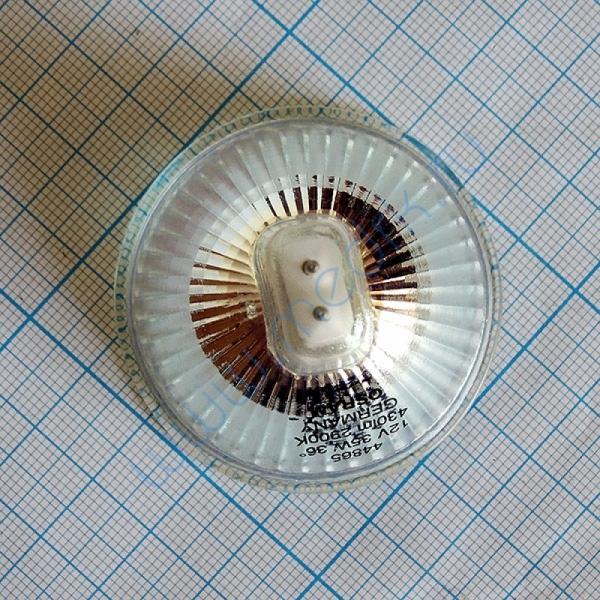 Лампа галогенная (галогеновая) Osram 44865 WFL 12V 35W GU5,3  Вид 3