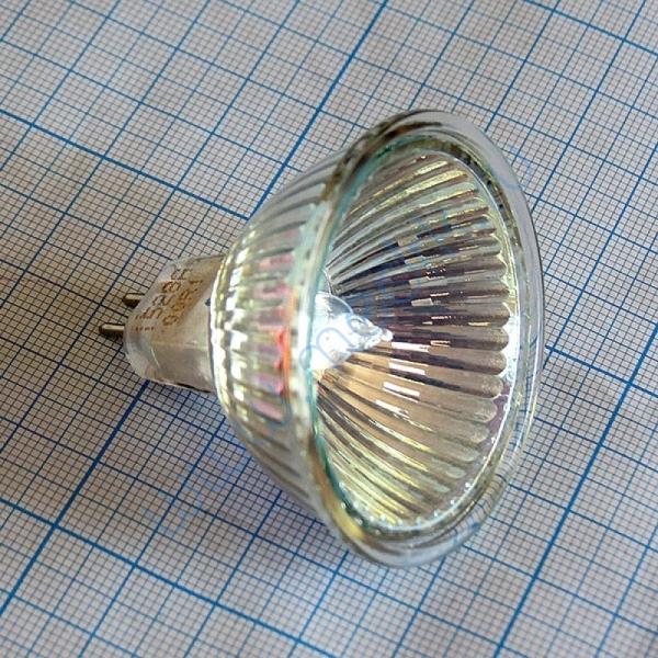 Лампа галогенная (галогеновая) Osram 44870 WFL 12V 50W GU5,3  Вид 3