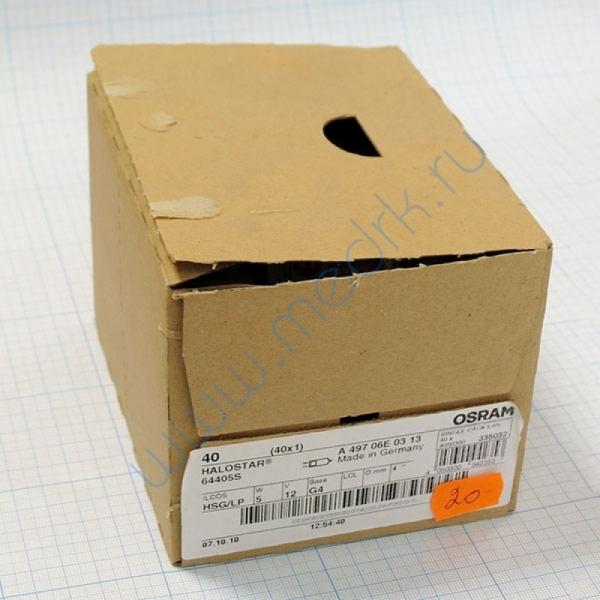 Лампа галогенная (галогеновая) Osram 64405S 12V 5W G4  Вид 2