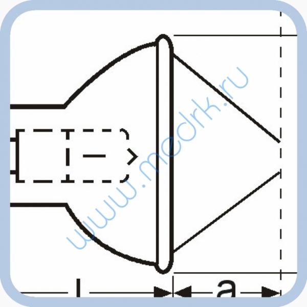 Лампа галогенная (галогеновая) Osram HLX 64653 24V 250W GX5,3  Вид 7