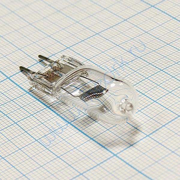 Лампа галогенная (галогеновая) Osram HLX 64655 24V 250W G6,35  Вид 4