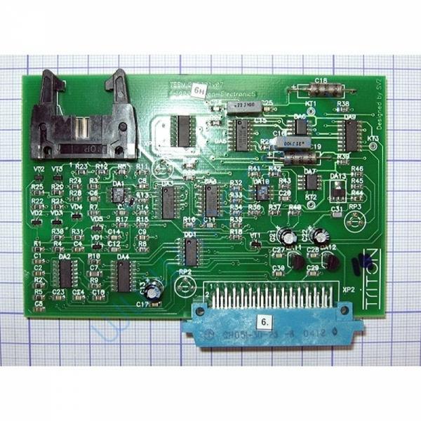 Плата аналоговая ТЭСМ.215001 для медтехники МПР-01  Вид 2
