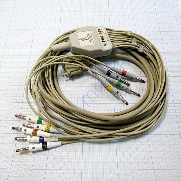 ЭКГ кабель пациента (отведения) FIAB F6725R  Вид 1