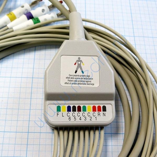 ЭКГ кабель пациента (отведения) FIAB F6725R  Вид 6