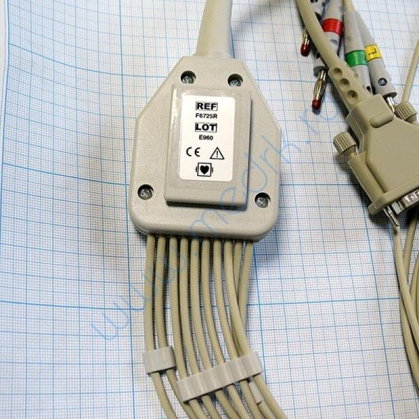 ЭКГ кабель пациента (отведения) FIAB F6725R  Вид 7