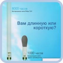 Лампа бактерицидная Philips или Китай