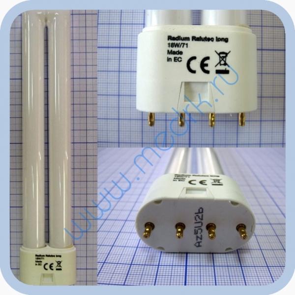 Лампа люминесцентная Radium Ralutec long 18W/71  Вид 1